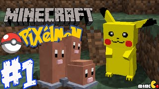Minecraft Mods Pixelmon A NEW Adventure Ep 1 (Minecraft Pokemon Mod)