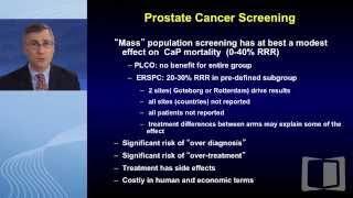 Segment 1: screening in prostate cancer
