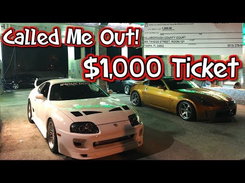 Procharged G35 Calls Out The Supra 1,000 Ticket