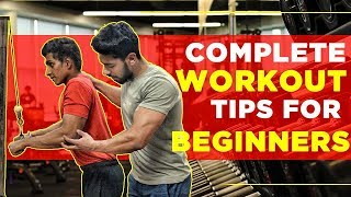 Top 5 Workout Tips for Beginners | Complete Gym Guide (Hindi)