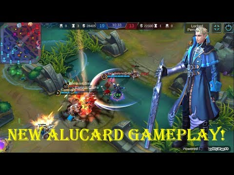 Mobile Legends - NEW ALUCARD REMODEL GAMEPLAY! New Animated Skill!