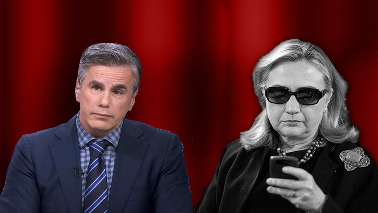 Judicial Watch Tom Fitton: There is MORE THAN ENOUGH Evidence to Reopen the Clinton Email Criminal I