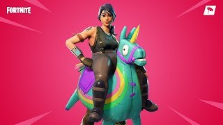 Fortnite New skins. YEE HAW - Female llama skin