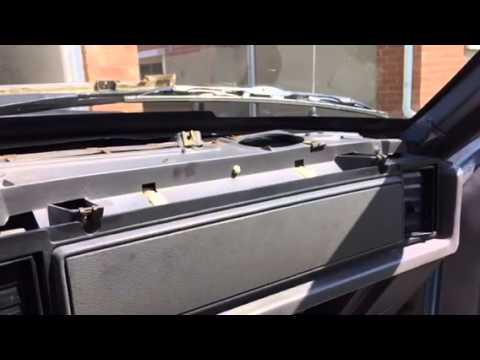 1986 Foxbody Mustang Dash Pad Replacement