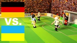 ⚽ SCHWEINSTEIGER TOR EM 2016 HIGHLIGHTS - Deutschland - Ukraine - PLAYMOBIL Stop Motion Film deutsch