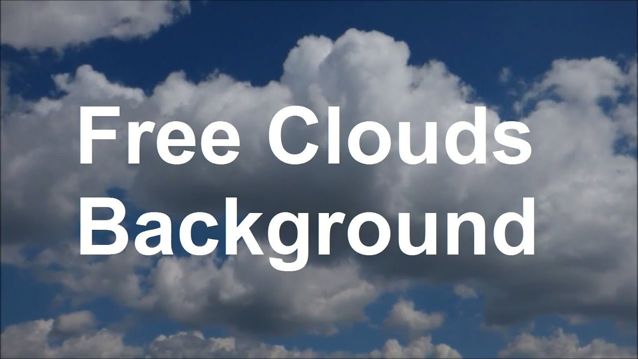 moving clouds background hd blue sky with clouds wolken hintergrund