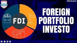 Foreign Portfolio Investor & Participatory Notes (P-Notes)