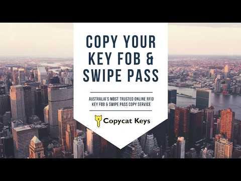 Copycat Keys Australia RFID Key Fob Swipe Pass Copy Service