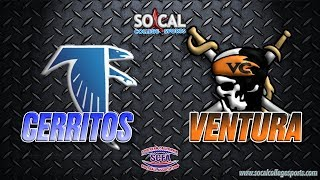 SCFA Football Week 11: Cerritos at Ventura - 11/11 - 6pm