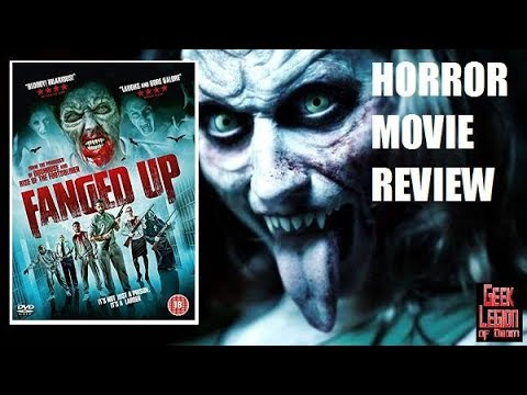 FANGED UP ( 2017 Danielle Harold ) Vampire Horror Comedy Movie Review