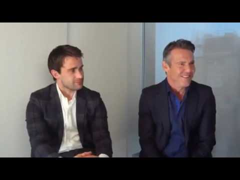 The Art Of More stars Dennis Quaid and Christian Cooke interview