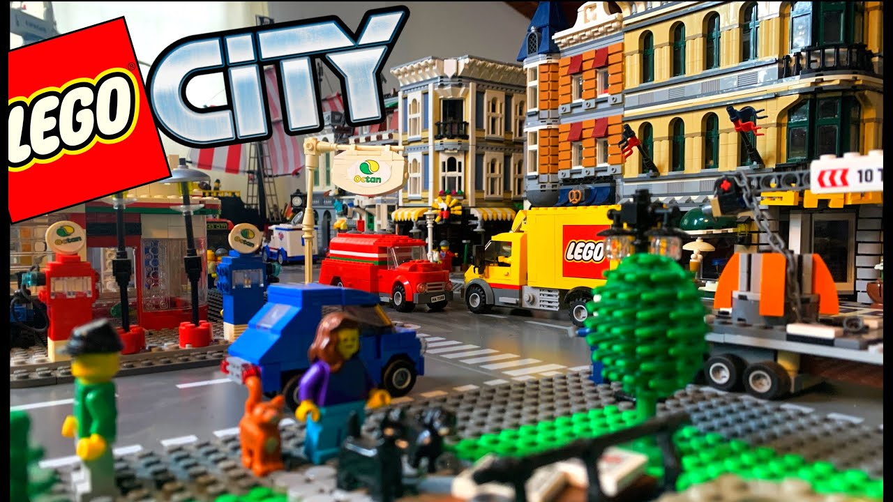 LEGO City Tour & update October 2020/2021 - YouTube