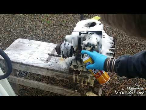 Can an engine be de-greased using Oven Cleaner from the dollar store? Let's find out