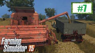 Letnie żniwa Bizonem - Farming Simulator 15 (Boluśowo V6) #7, gameplay pl