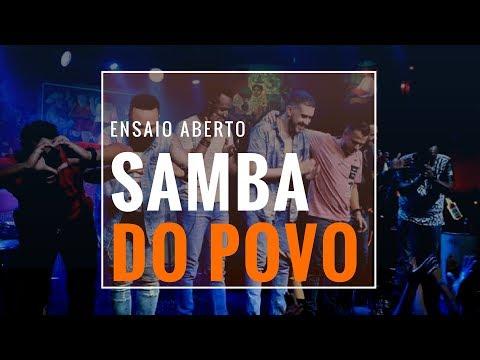 DVD Samba do Povo  - Ensaio Aberto 2018 - Completo Full HD