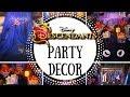 Disney 's Descendants Party | Disney Birthday Decorations 🎉 | Ideas & DIYS | #6 | Kimberly Gomez
