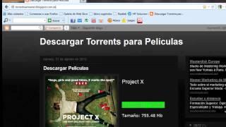 Descargar peliculas gratis por Torrent (Todos los estrenos)