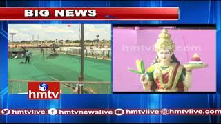 All Arrangements Set for TRS Praja Ashirvada Sabha In Wanaparthy | hmtv