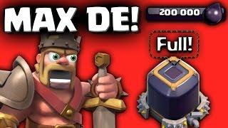 Clash of Clans Insane Dark Loot Strategy - Convert Elixir to Dark !! For TH-8,9,10