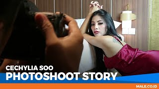 CECHYLIA SOO di Behind the Scenes Photoshoot - Male Indonesia | Model Hot Indo