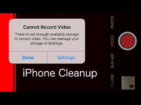 How To Clean Up Your Iphone Make More E