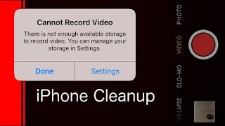 How to clean up your iPhone to make more space