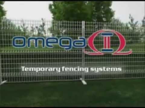 Metaltech-Omega - Temporary Fencing Installation Video