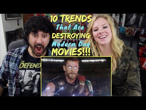 10 TRENDS That Are DESTROYING Modern MOVIES - REACTION & ANALYSIS!!!