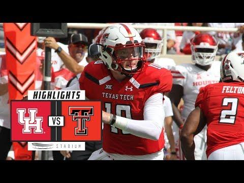 Houston vs Texas Tech Football Highlights (2018) | Stadium