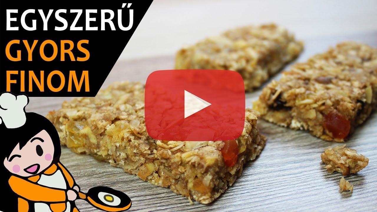 a granola rudak segítenek a fogyásban)