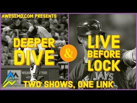 MLB DFS PICKS & LIVE BEFORE LOCK - MON 9/16 - DEEPER DIVE - FANTASYDRAFT YAHOO DRAFTKINGS FANDUEL