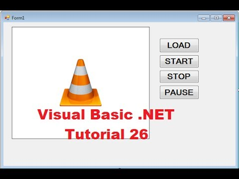 Visual basic. Net tutorial 26 how to embed vlc media player into.