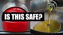 Olive Oil on High Heat -- Is it Safe?