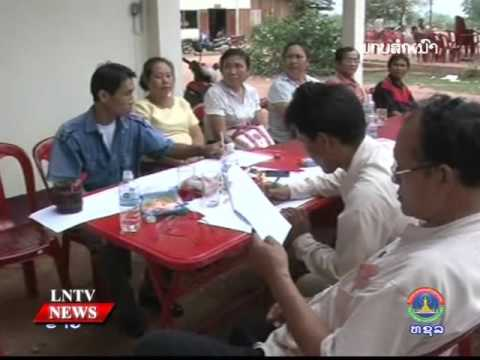 Lao NEWs on LNTV: The road to the election of Laos' Assembly elections is opening up.26/2/2016