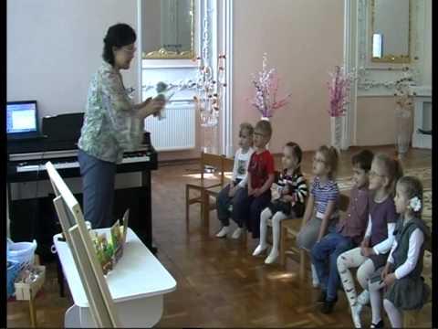 Открытое музыкальное занятие в детском саду