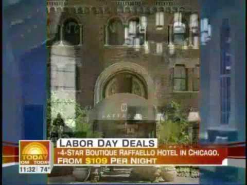 Raffaello Hotel On The Today Show!
