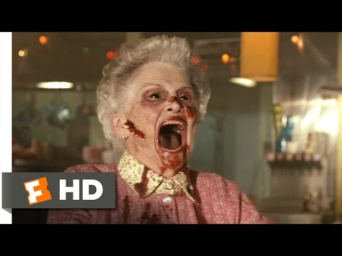 Legion (2/10) Movie CLIP - Granny's Got Teeth (2010) HD