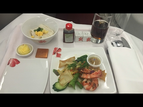 【飛行記錄】香港航空公司 商務艙 東京成田-香港 空中巴士A330-300  Hong Kong Airlines Bu