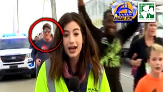 Who's the Man Who Slapped Reporter Live on Air?