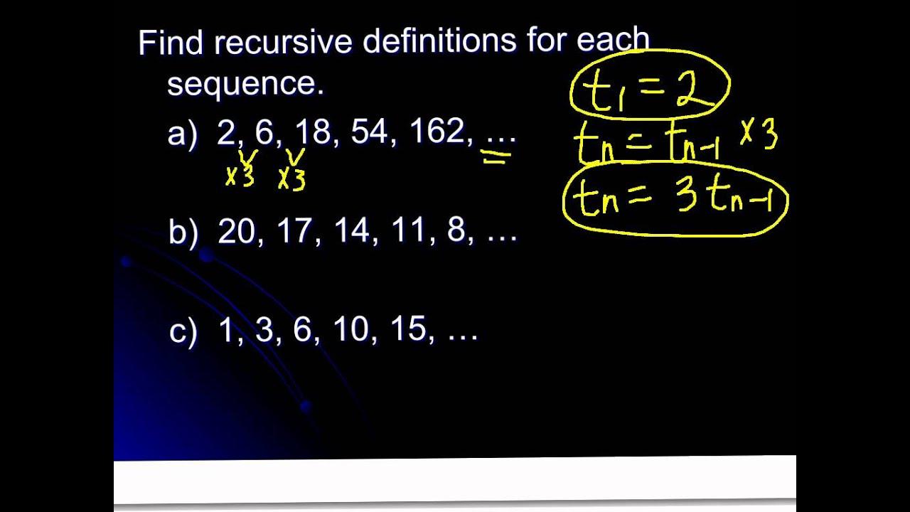S 199.199 (Day 19): Recursive Definitions