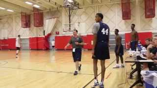 Archie Miller At Practice With USA Basketball's U19 Team