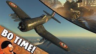 "War Thunder Char 25t / F4U-7 ""Spamming Rockets!"""