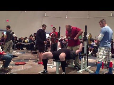 Ironman Barbell - Josh Myers - 1/23/16