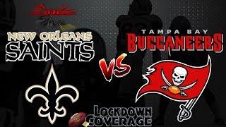 NFL Football 2016 Recap: Saints vs. Buccaneers (Week 14) (Lockdown Coverage)  #LouieTeeLive