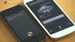 iphone 4s siri vs samsung galaxy s3 s voice comparison