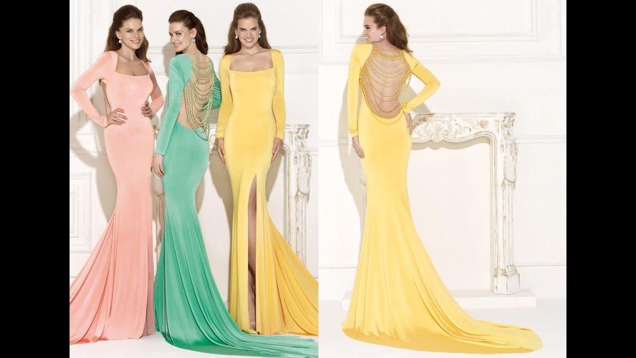 Tarik Ediz Long Prom Dress 92469 - YouTube