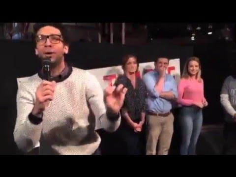 Undateable Live pre Cast Intro Rick Glassman introduces the cast