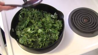Easy And Fast Sauteed Kale