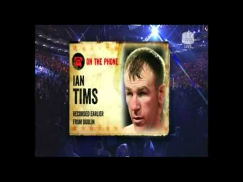 Bunces Boxing Hour - Ian Tims