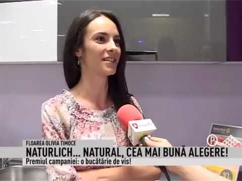 Naturlich - Castigatoarea campaniei: O bucatarie de vis!